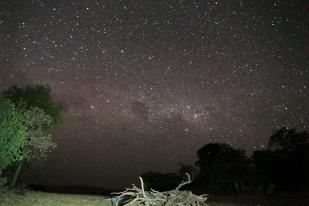 Ugandában a fényszennyezés még ismeretlen fogalom. Kidepo Nemzeti Park (Fotó: Klébert Antal)