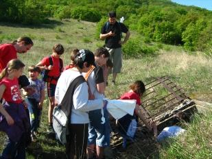 Bunker túra (Fotó: DINPI archívum)
