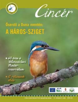 Cincér újság borító (2018. tél)