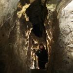 Kiépített barlangjárat