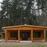 Az oktatóközpont épülete