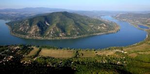 A Dunakanyar légifelvétele (Fotó: Kalotás Zsolt)