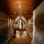 Szoba emeletes ágyakkal