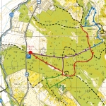 A Kőpite tanösvény térképe