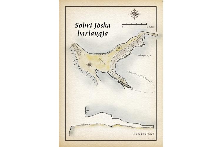 Sobri Jóska barlangja térkép