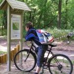 Biciklivel a Pálfája tanösvényen a