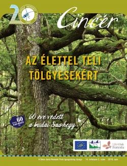 Cincér újság 2018. nyár címlap