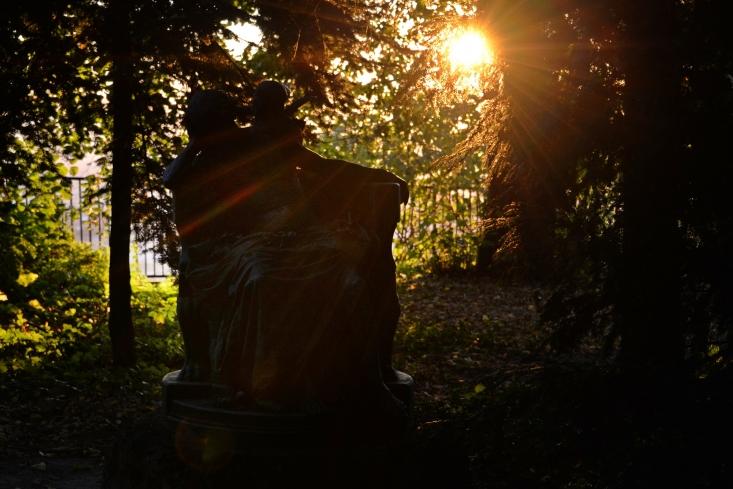 Ősz a Jókai-kertben (Fotó: Berkó Gyöngyi)