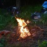 Esti tűzrakás (Fotó: Láng Petra Zsófia)
