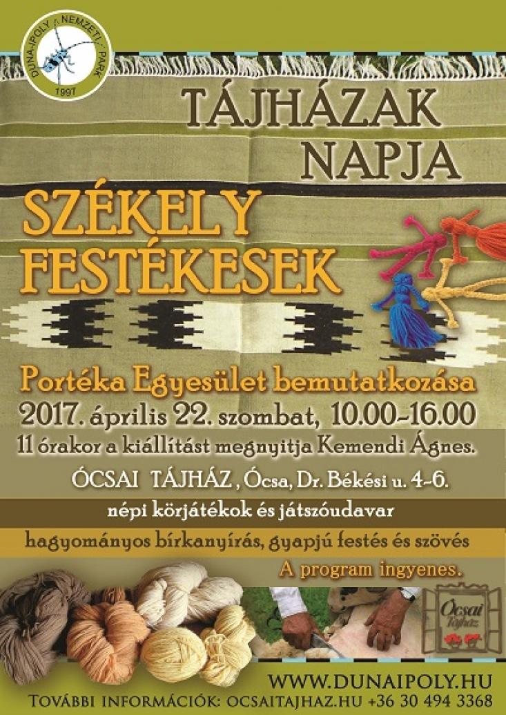 Tájházak Napja - Székely Festékesek 2017