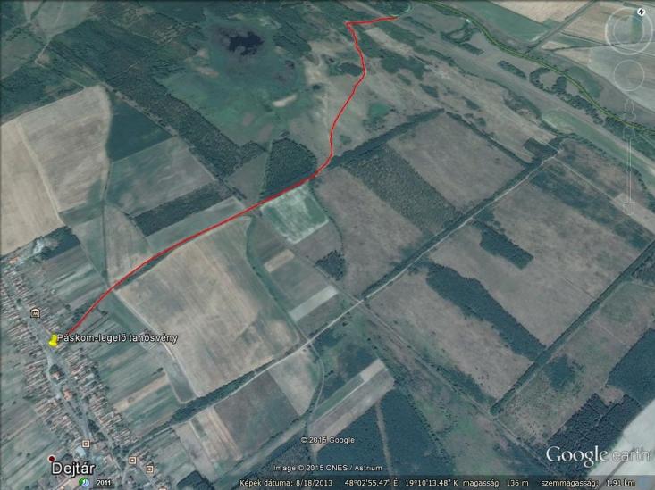 Páskom legelő tanösvény – Aktív térképért gördítsen lejjebb!