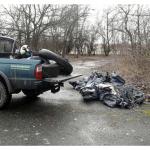 Illegálisan elhelyezett hulladék begyűjtése Ceglédi-rét Természetvédelmi Területen