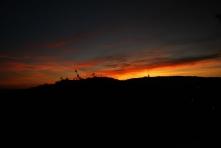 Sas-hegy Naplemente
