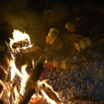 Vacsora a Börzsöny mélyén (Fotó: Láng Petra Zsófia)