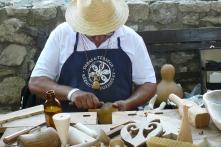 Miklós Gábor, faműves – Nemzeti Parki Termék védjegyes kézműves