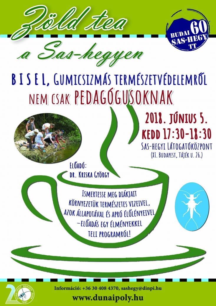 06.05. Zöld tea a Sas-hegyen – BISEL