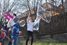Vizes játékok a Pilisi Len Látogatóközpontnál (fotó: Király Imre)