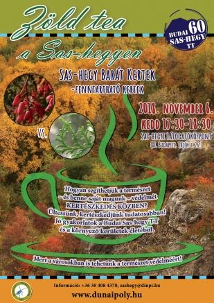 11.06. Zöld Tea a Sas-hegyen – Sas-hegy Barát Kertek - Fenntartható kertek