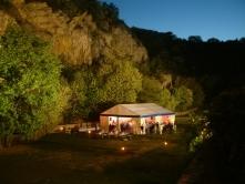 A Pál-völgyi kőfejtő este