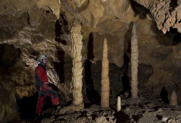 Ariadne-barlangrendszer (Fotó: Kovács Richárd)