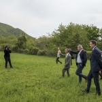 A sajtótájékoztató után a meghívottak megtekintették a projekt helyszínét is ((Fotó: Pelsőczy Csaba)