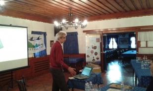 Előadás a workshopon (fotó: Schrett Andrea)