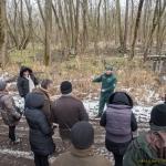 A terület természeti értékeit a Természetvédelmi Őrszolgálat mutatta be