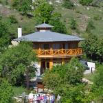 Látogatóközpontunk a kilátópontról nézve