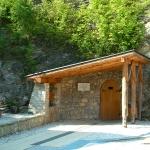 A barlang bejárata