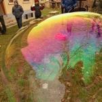 Víz Világnapja a látogatóközpont udvarán (fotó: Becsei Katalin)