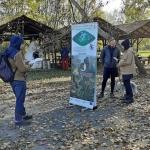 DINPI mobilkiállításon keresztül ismerkedés a természetvédelmi tevékenységeinkkel