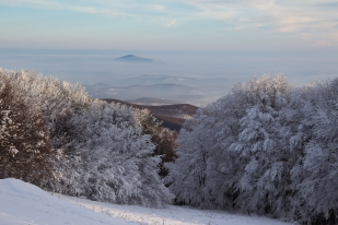 Tél a Börzsönyben (Fotó: Selmeczi Kovács Ádám)