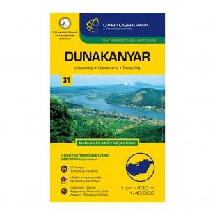 Dunakanyar turistatérkép