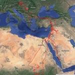 Örs útvonala (Forrás: satelittracking.eu)