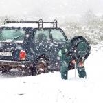 A mindenre elszánt természetvédelmi őröknek néha zord körülmények között kell dolgozniuk