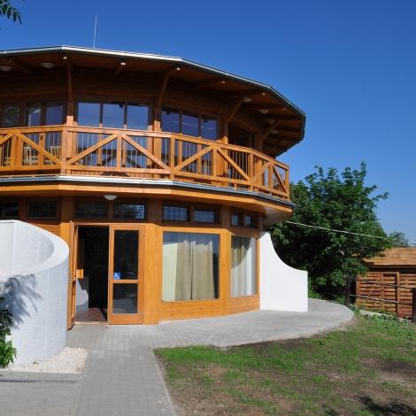 Megújult Látogatóközpont (fotó: Kézdy Pál)
