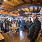 A program során a vendégek megtekintették az Ócsai Tájházegyüttes kiállításait is