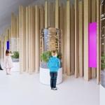 Az épület legfőbb attrakciója: a kiállítás