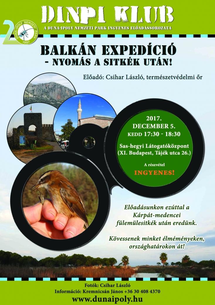 DINPI Klub: Balkán expedíció – Nyomás a sitkék után!