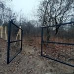 Az új kapu (Fotó: Szontaghné Mosoni Dóra)