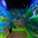 Sötétszoba a Pilisi Len Látogatóközpontban (Fotó: Biros Zalán)