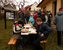 Foglalkozás a Víz Világnapján (fotó: Becsei Katalin)