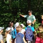 Lenge tábor - természetvédelem  természetvédelmi őrtől