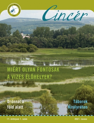 Cincér Újság 2021 tavasz címoldal
