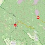 Nyugat-Börzsöny úthasználati korlátozás