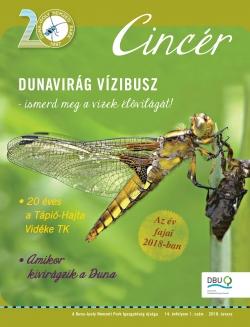 Cincér Újság 2018 tavasz címlap