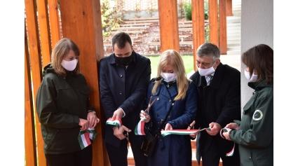 Átadták a megújult Pilisi Len Látogatóközpontot (Fotó: Berkó Gyöngyi)