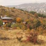 Látogatóközpontunk és környezete ősszel