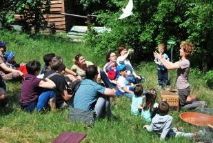 Kiskerti ornitológia (Fotó: Gál Enikő)