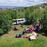 Kilátás a Látogatóközpont teraszáról (fotó:: Becsei Katalin)